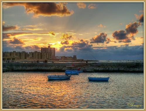 Alexandrie s'endort / Sun going down on Alexandrie