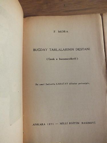 Magyar könyvek törökül
