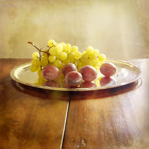 Grapes & Plums