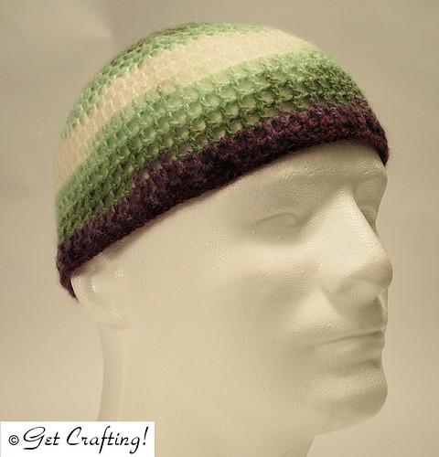 Simple mesh hat