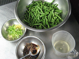 Dry Fried Long Beans - Gan Bian Si Ji Dou
