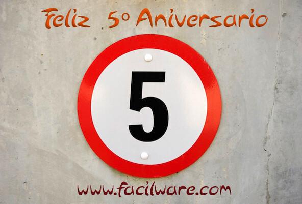 quinto aniversario