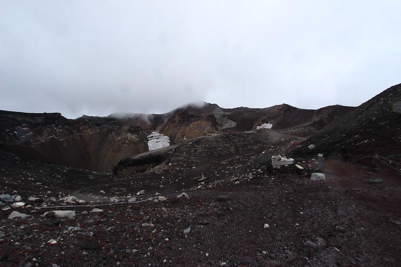 富士登山 お鉢巡り その2