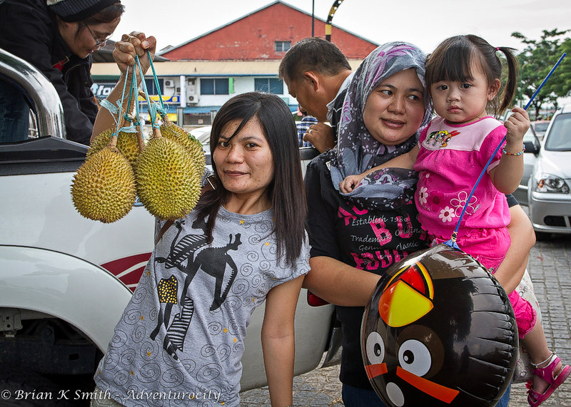 Durian Seller, Kuching
