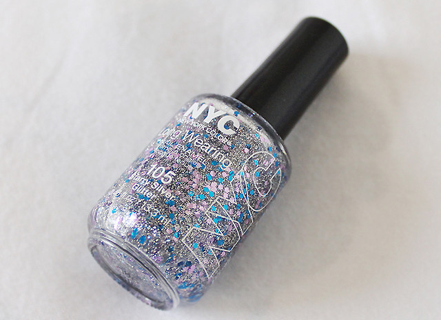 NYC starry silver glitter 2