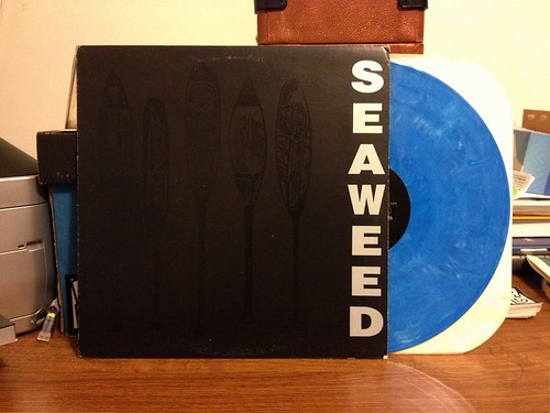 Seaweed - S/T LP - Blue Vinyl by Tim PopKid