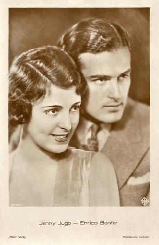 Enrico Benfer and Jenny Jugo
