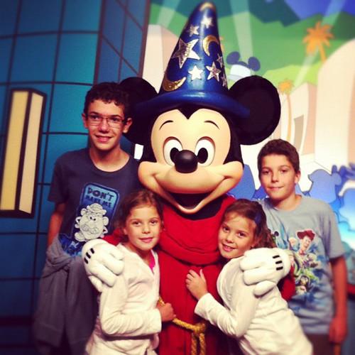 #Mickey is #fantasmic