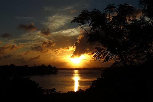 sunset méxico landscape atardecer paisaje tamaulipas tampico chairel