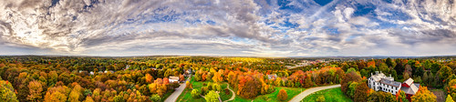 panorama fall bangor maine 360 foliage thomashillstandpipe bangorwaterdistrict