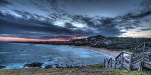 sunset beach nsw hdr portmacquarie northcoast lighthousebeach