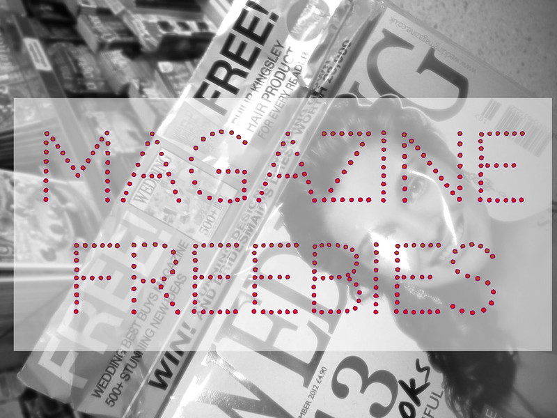 Magazine freebies