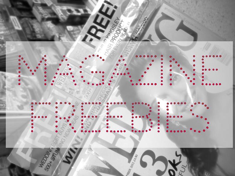 Magazine freebies