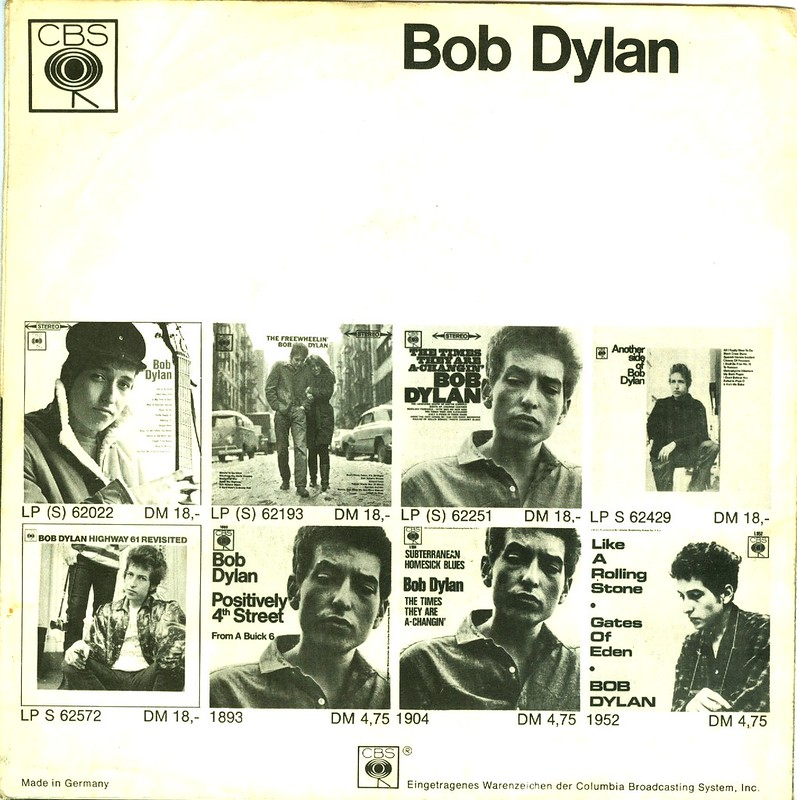 Dylan, Bob - Can You Please Crawl Out Your Window ?- D - 1966
