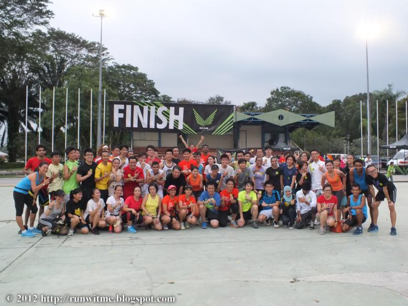 Nike Run Club Training @ Titiwangsa