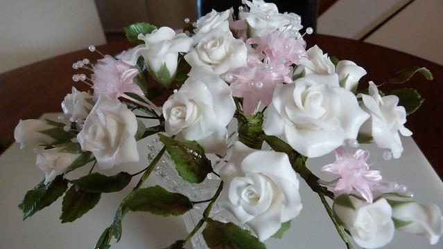 60th anniversary sugar flowers 022 flickr photo sharing. Black Bedroom Furniture Sets. Home Design Ideas