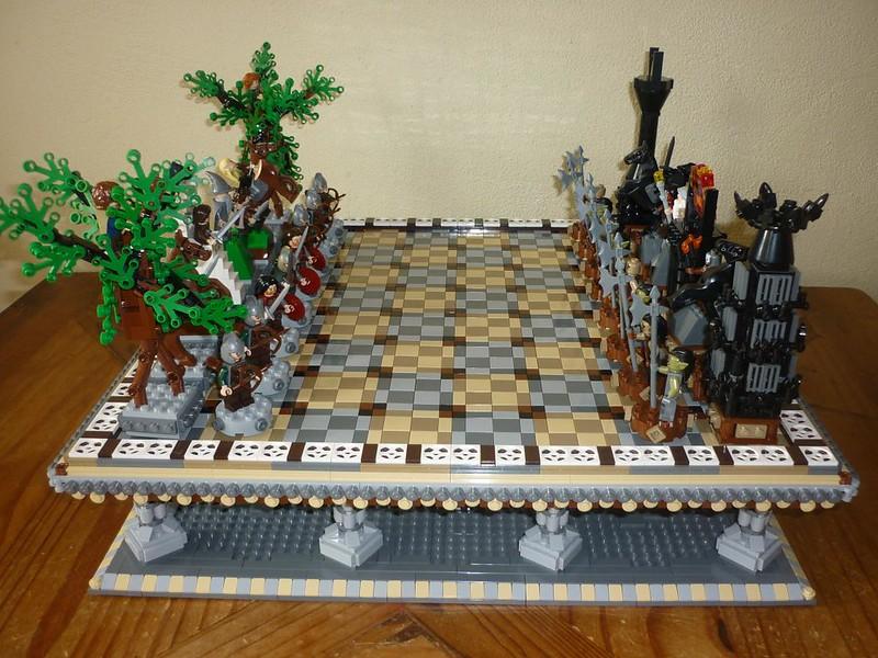 Moc Lotr Chess Lego Historic Themes Eurobricks Forums