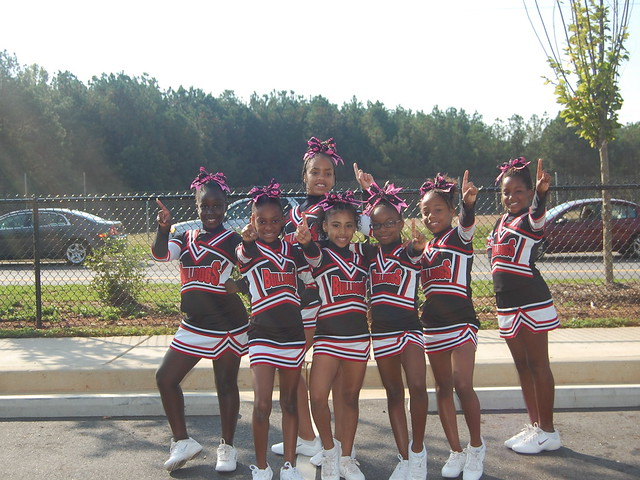 2012 Youth Team/Cheer Squad of the Week // Rockdale Youth Football Association 10U Division One Cheer Squad located in Conyers, GA // October 8, 2012