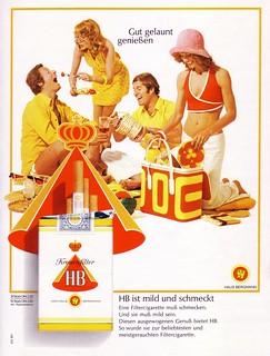 HB (1973) Kronenfilter Picknick