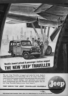 1961 Willys Jeep Traveller