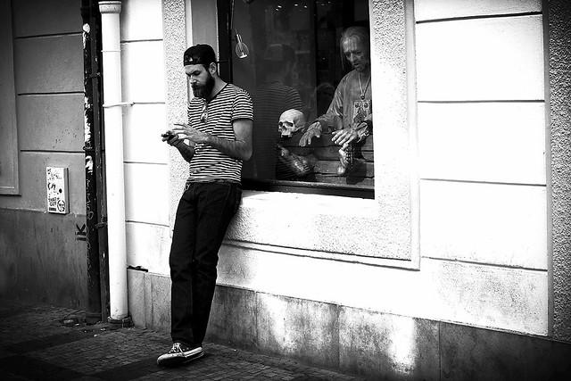 SMS under thrilling circumstances