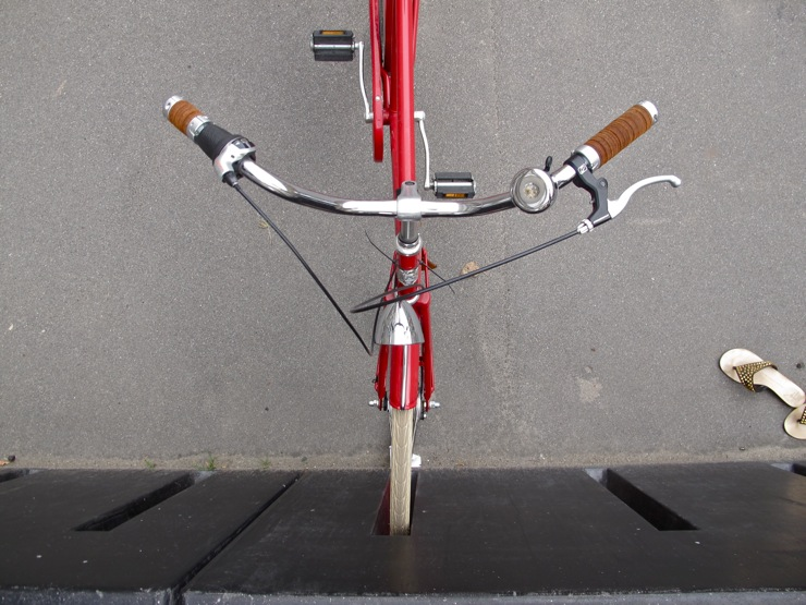 Danish Parliament parking rack