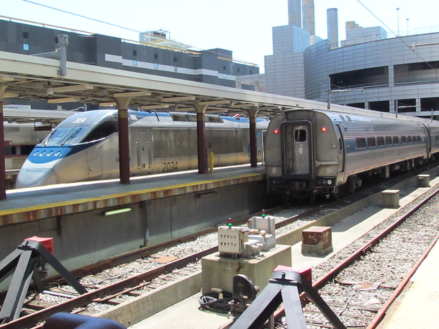 Acela PC 2034 And An Amtrak