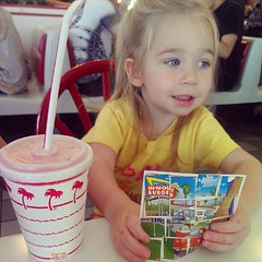 Aurora likes In-N-Out puzzles!