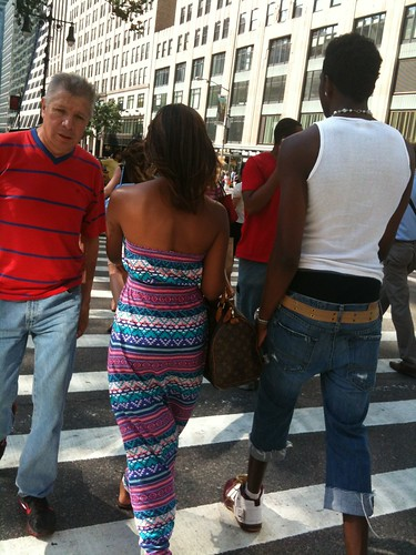 Sagging, at 42nd St.