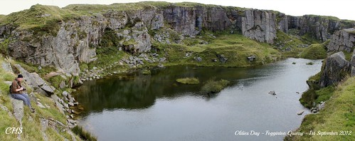 Fogginton Quarry, 1st September 2012 by Stocker Images