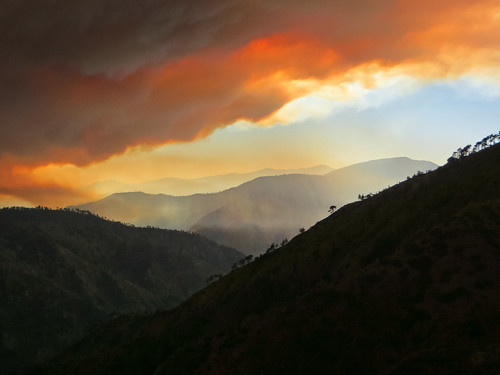 sky orange nature canon landscape outdoors fire losangeles hiking socal southerncalifornia labordayweekend wildfire sangabrielmountains angelesnationalforest pinemountain fishcreek williamsfire sheepmountainwilderness prairiefork sx260