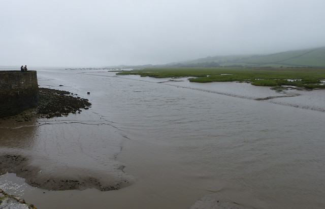 Rainy Kidwelly Quay