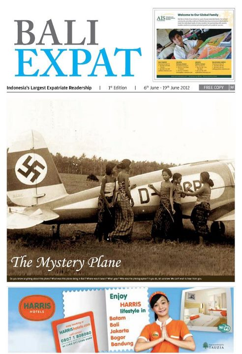 A German plane in Bali - Axis History Forum