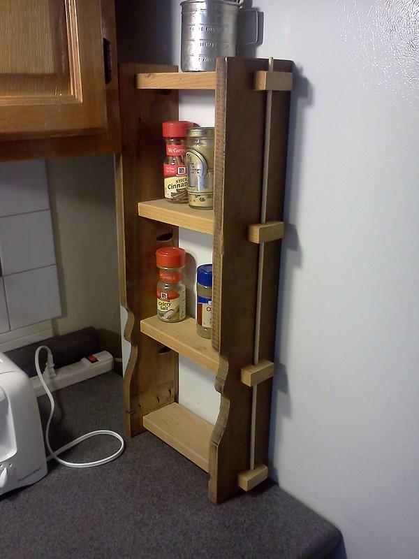 Spice rack...