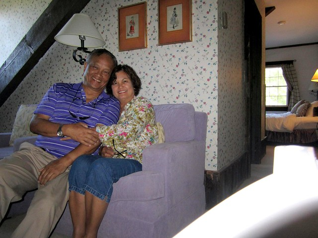 Mom and Dad August 2012