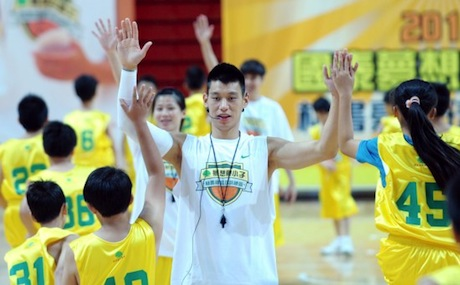 August 27th, 2012 - Jeremy Lin at a basketball camp in Taipei, Taiwan