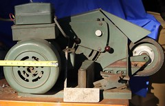 Motor side view