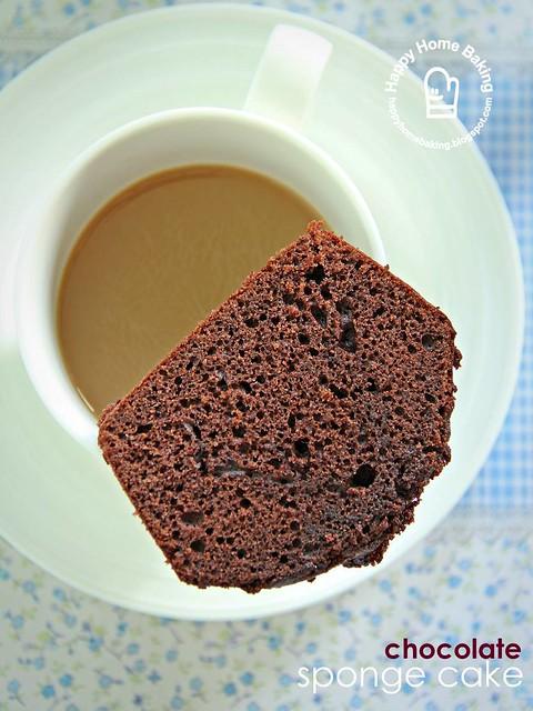 chocolate sponge cake | Flickr - Photo Sharing!