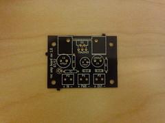 Practice amp PCB - top