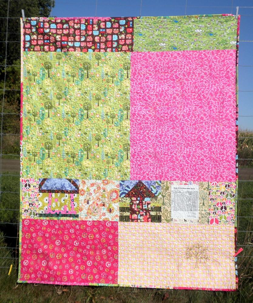 Home Sweet Home Quilt - Finished