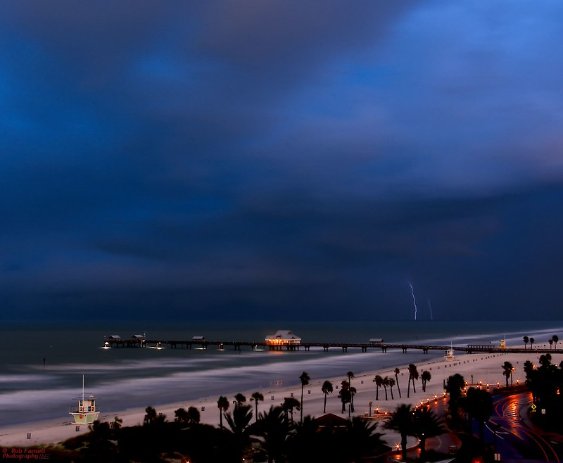 Stormy Morning On Clearwater Beach