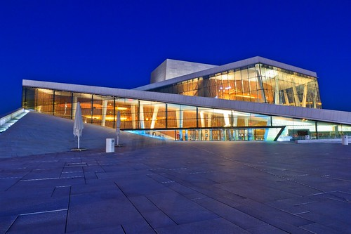 The Oslo Opera House Magic Hour