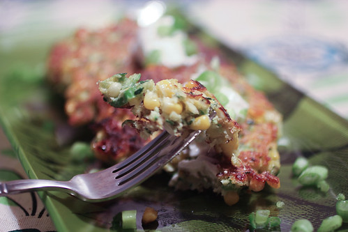 Zucchini and Corn Fritters-5