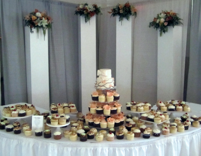 Wedding Cupcake Dessert Table Cake & Tower