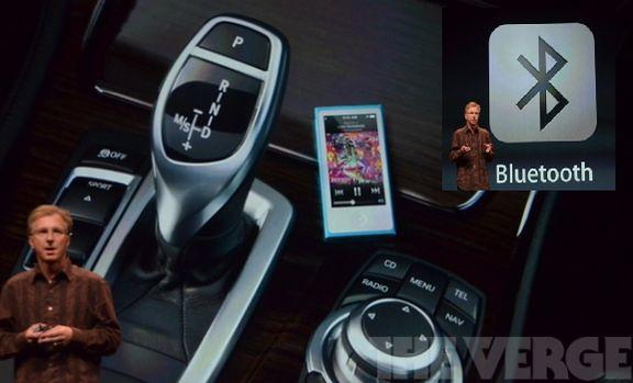 Bluetooth в iPod