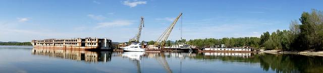 Panorámában, pilismaróti hajótemető