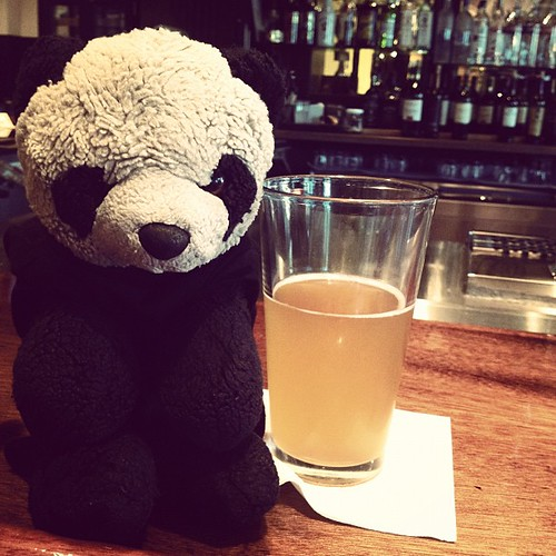 The Bear loves the Shocktop.