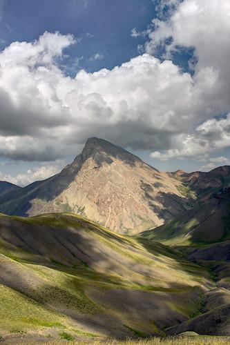 summer iran mazandaran alborz azadkooh southwestview azadkuh 14343ft varangrud varangerud 4372m