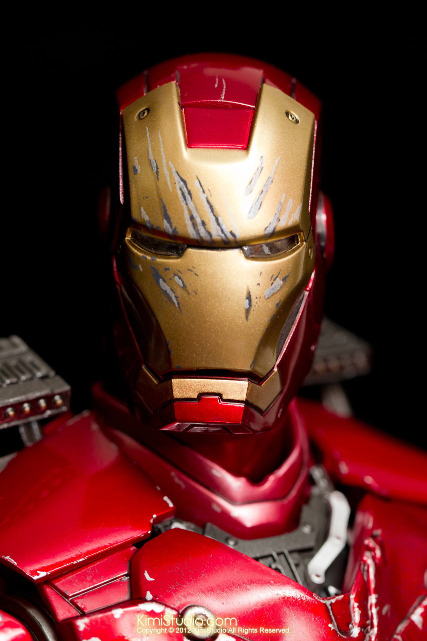 2012.09.13 MMS110 Hot Toys Iron Man Mark III 戰損-016
