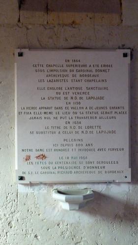 Saint Michel de Lapujade - L'Eglise de Notre Dame de Lorette 04
